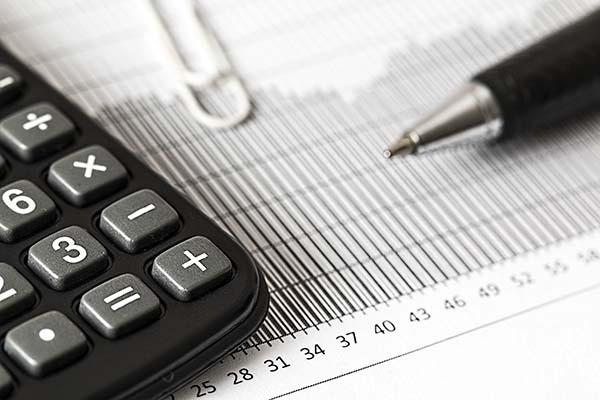 Investments — Calculator & Pen